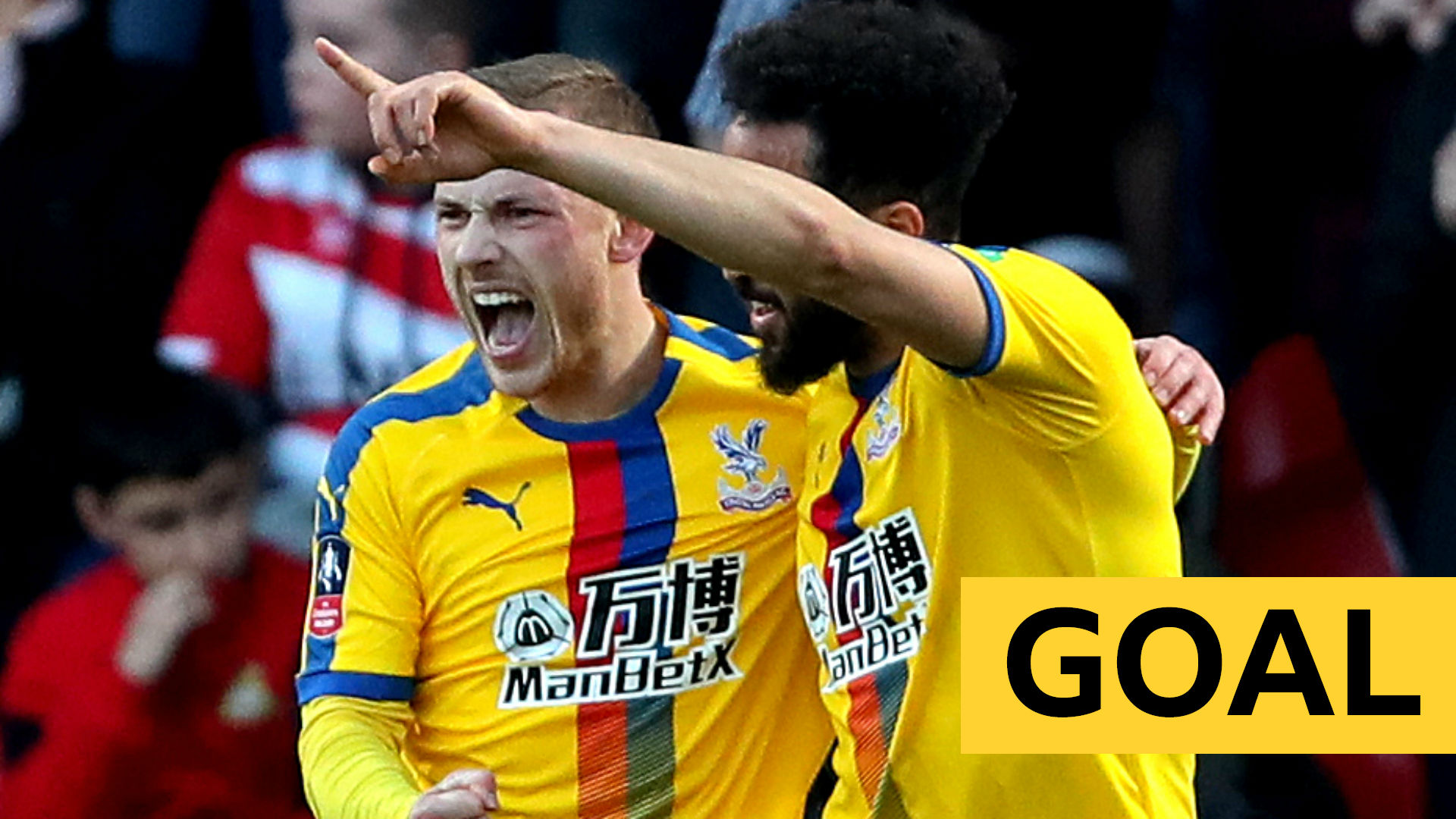 FA Cup: Crystal Palace's Max Meyer scores second goal against Doncaster Rovers