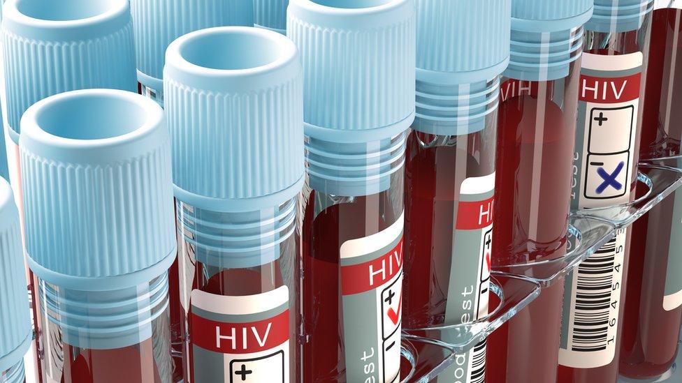 blood test tubes