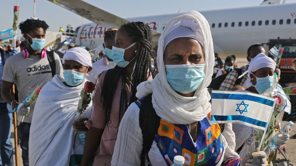 Ethiopian Jews arrive in Israel (21/05/20)