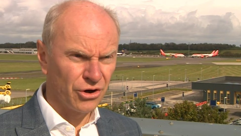 Dave Lee, CEO Bristol Airport