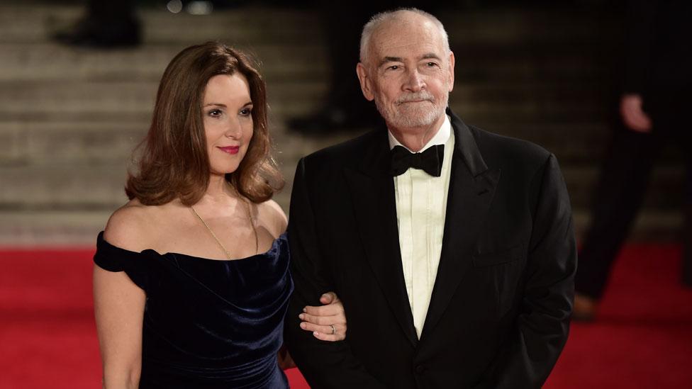 Michael G Wilson and Barbara Broccoli