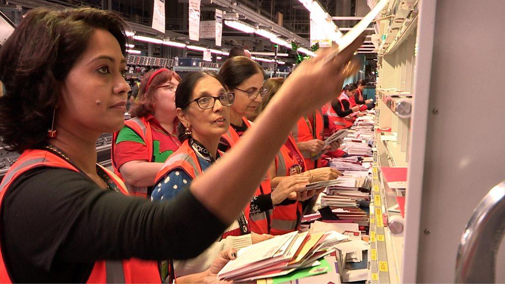 Behind the Scenes: Royal Mail's busiest week