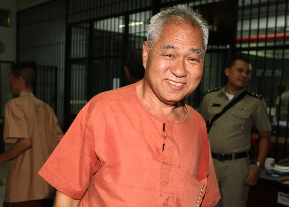 Thai political activist Surachai Danwattananusorn