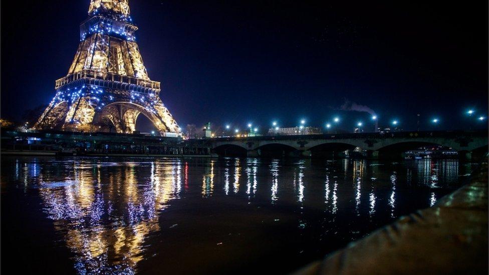 Torre Efiffel de París.