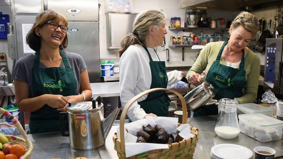 Mujeres en una cocina