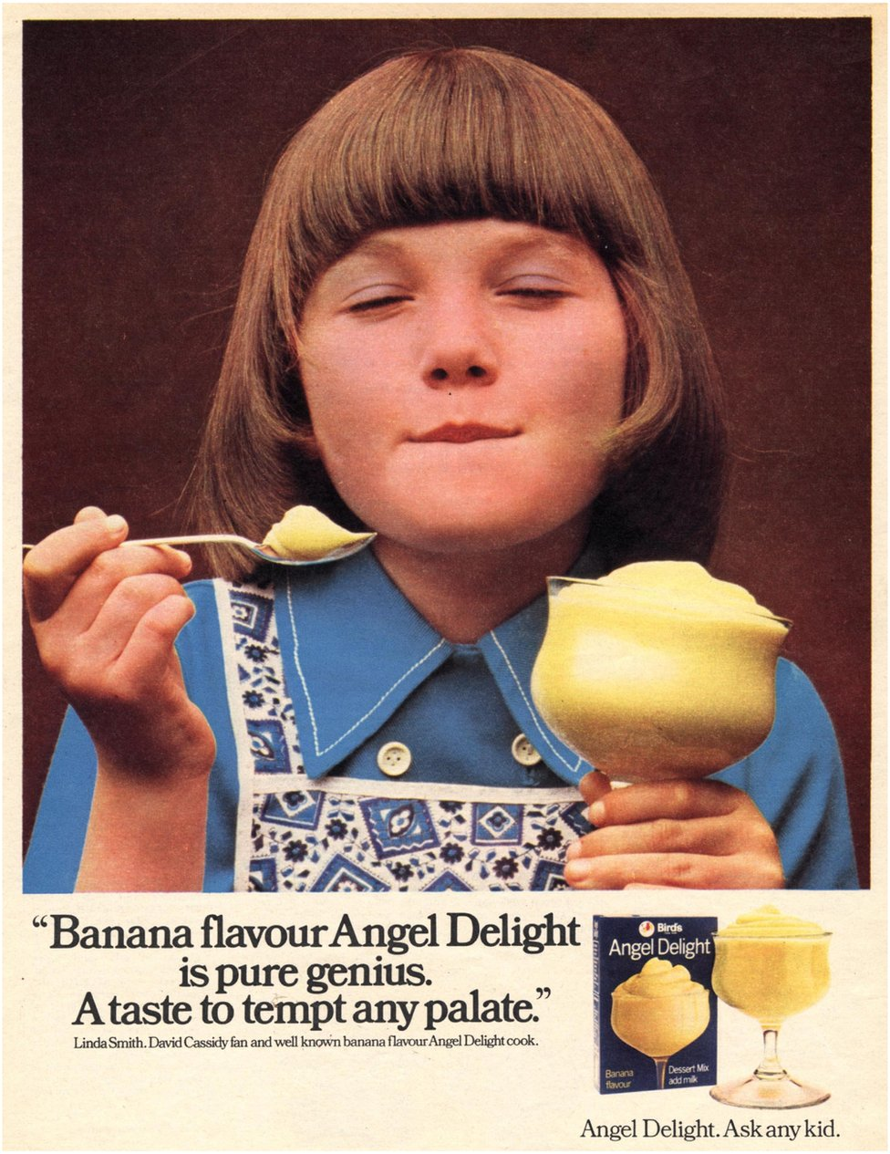 Powdered foods were popular in the 1970s