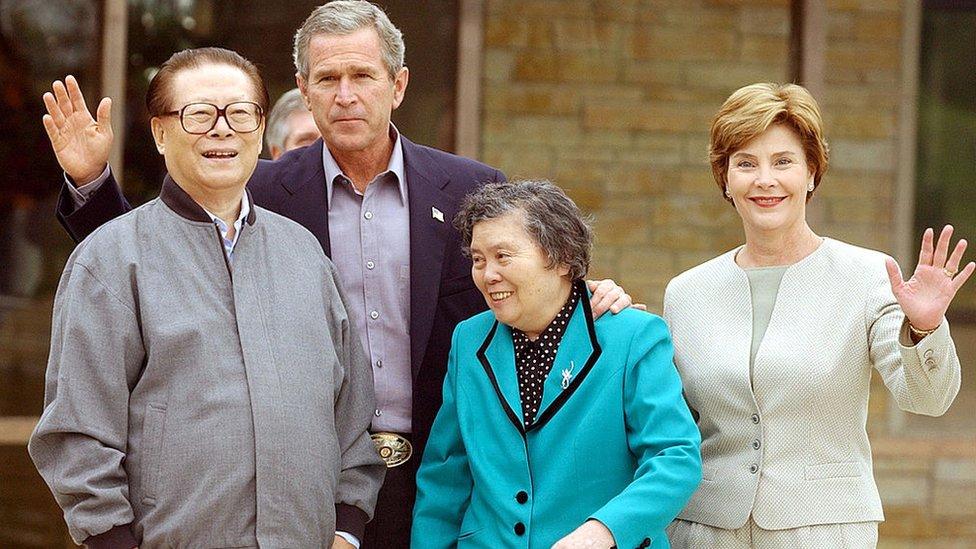 江澤民和布什