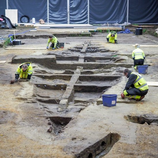 Norway excavates a Viking longship fit for a king