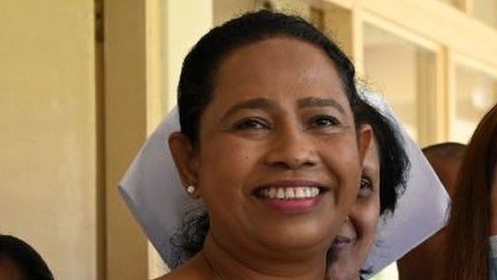 وزيرة الصحة السريلانكية بافيثرا وانياراتشي