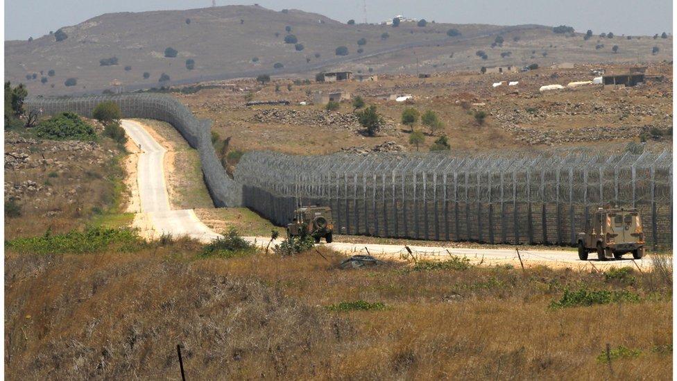 الحدود الإسرائلية السورية