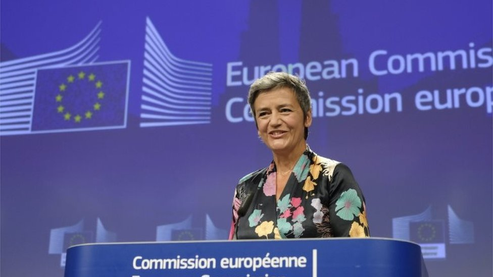 مارغريت فيستاجير، المفوضة الأوروبية المكلفة بقضايا التنافس