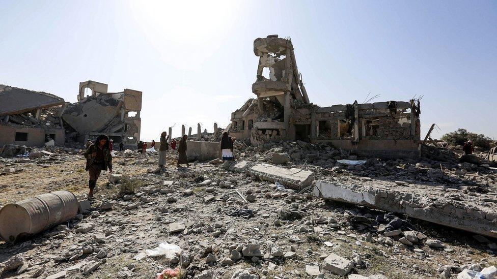 اشتعلت الحرب الأهلية في اليمن منذ عام