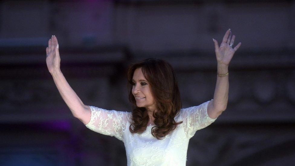 Cristina Fernandez de Kirchner, 9 Dec