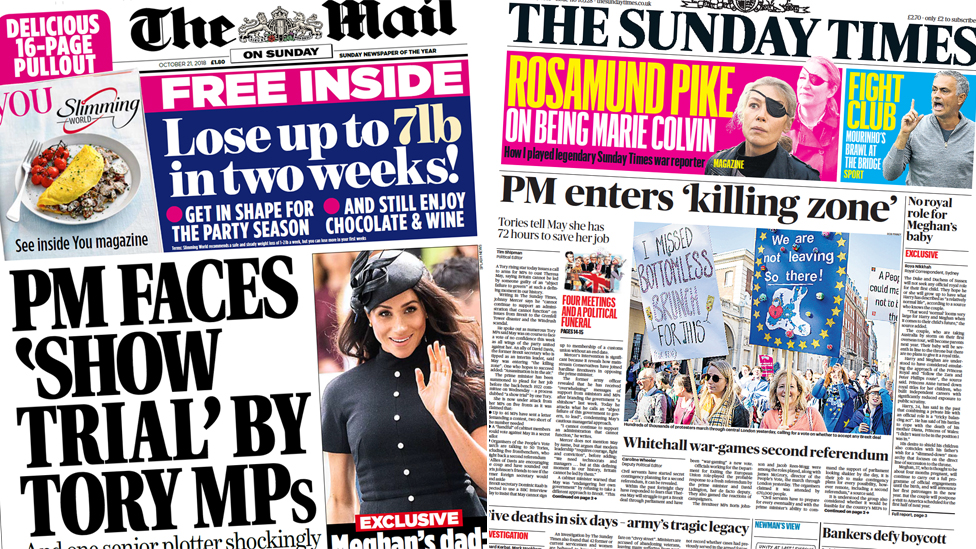 The Papers: PM in 'killing zone' ahead of 'show trial'