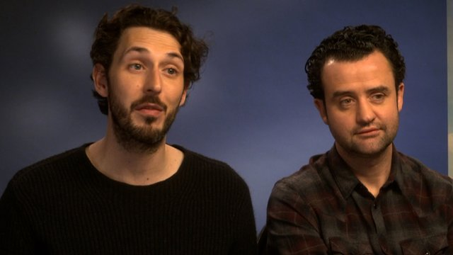 Blake Harrison and Daniel Mays