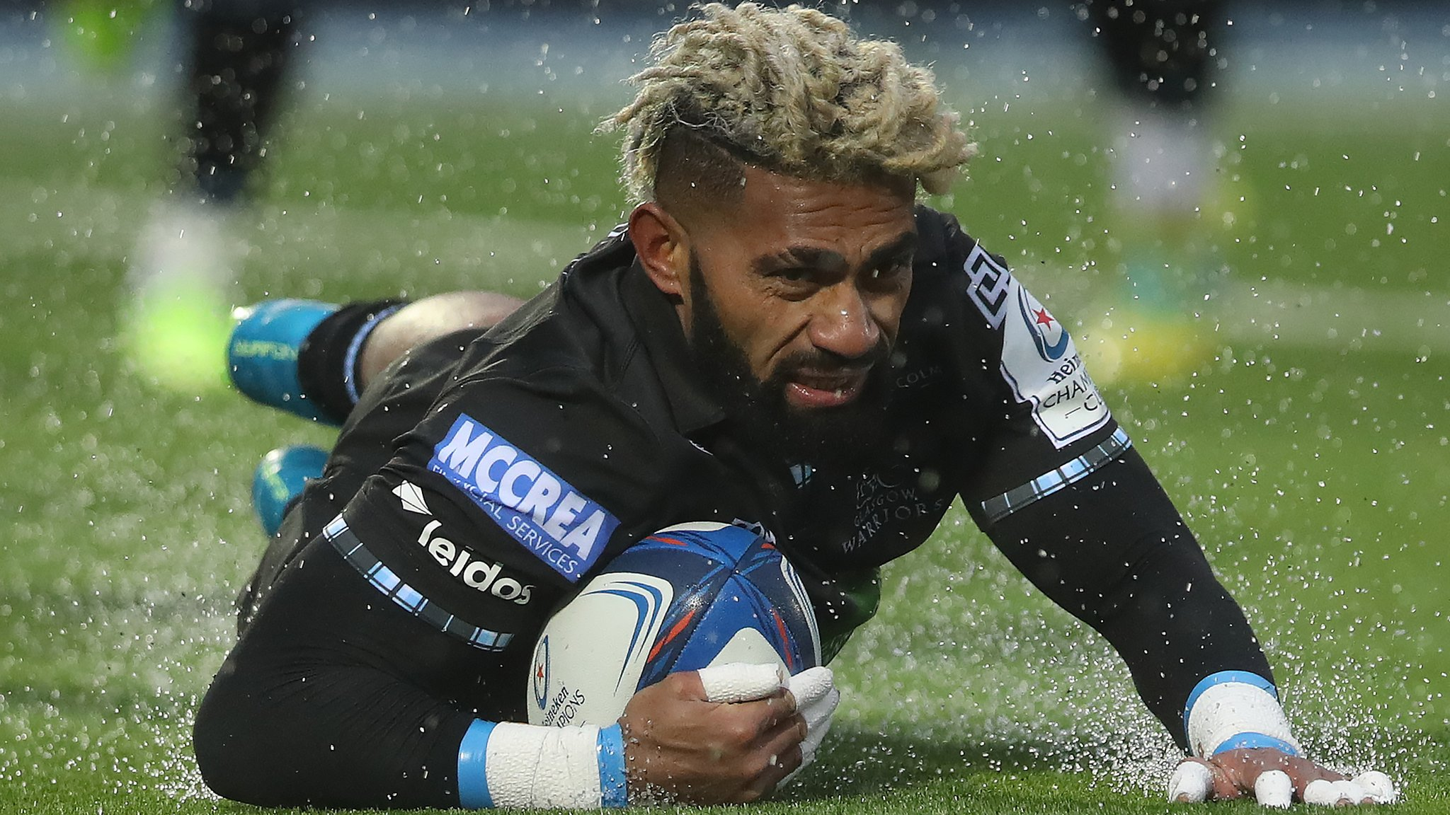 Matawalu grabs double as Glasgow beat Lyon