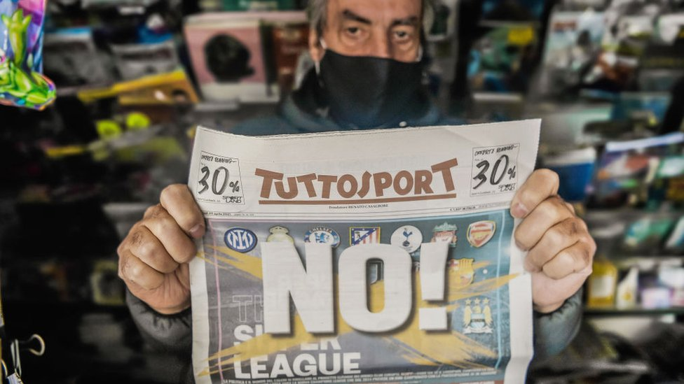 Aficionado contrario a la Superliga europea.