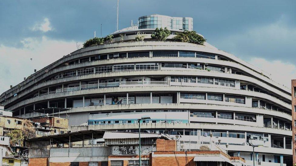"""NO USAR. BBC. En """"el Helicoide"""", la emblemática sede del Sebin están detenidos varios importantes dirigentes de la oposición venezolana."""