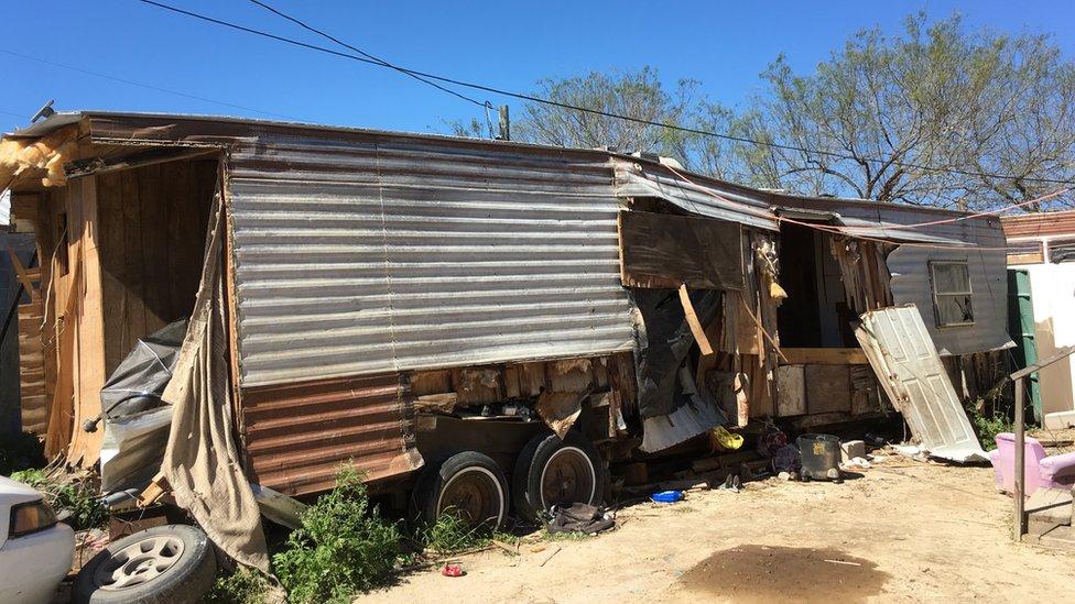 NO USAR | BBC. Casa-trailer en Escobares City, Texas.