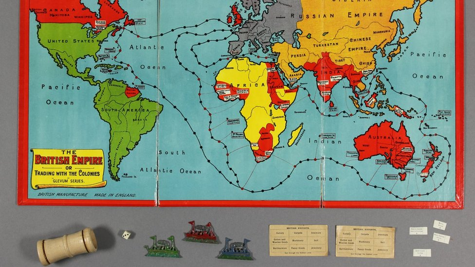 The British Empire or Trading with the Colonies
