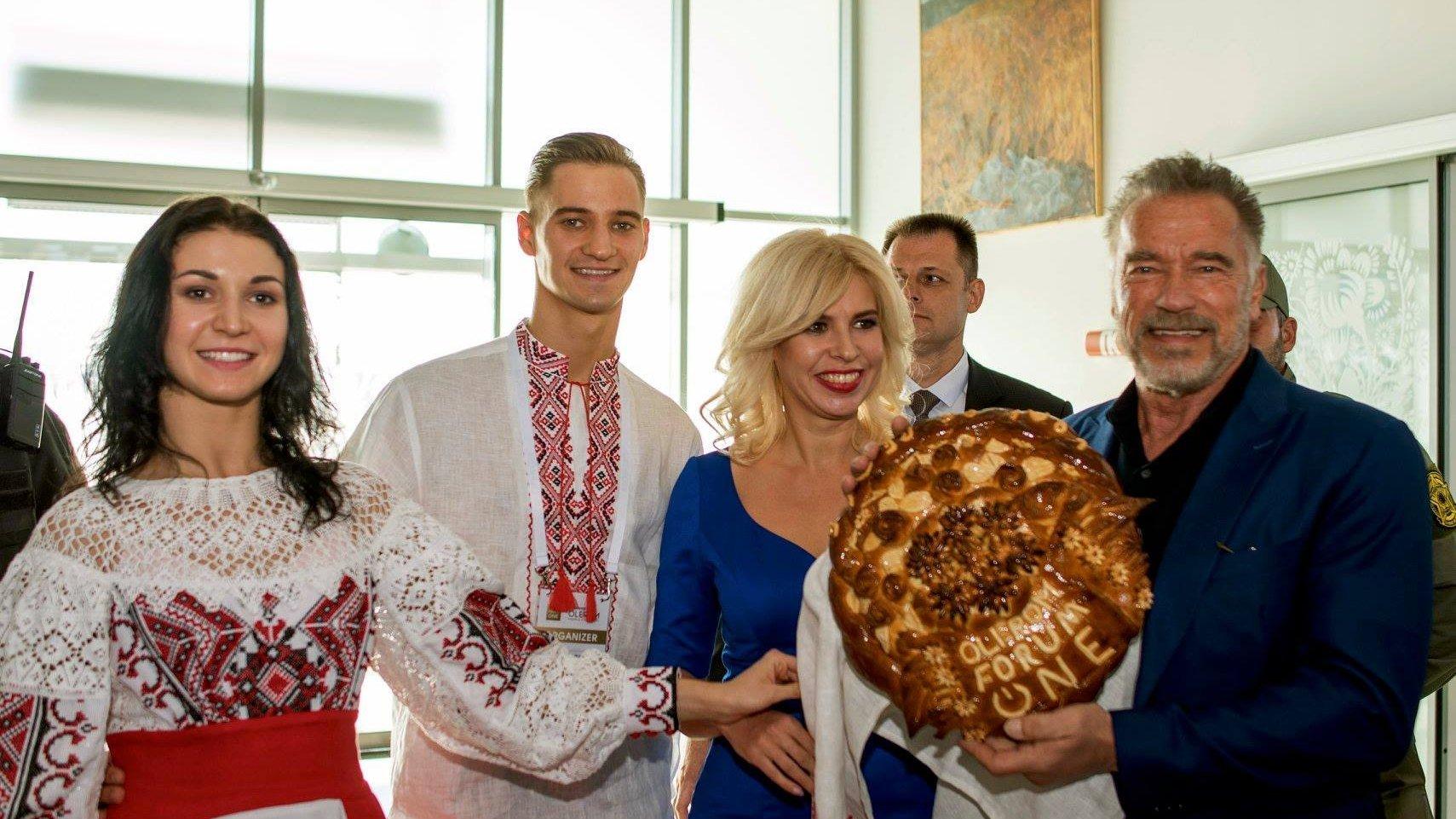 Шварценеггер у Києві сказав, що ще повернеться