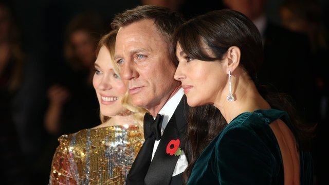 Lea Seydoux, Daniel Craig, Monica Bellucci