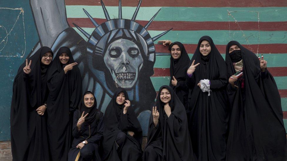 İran gösteri