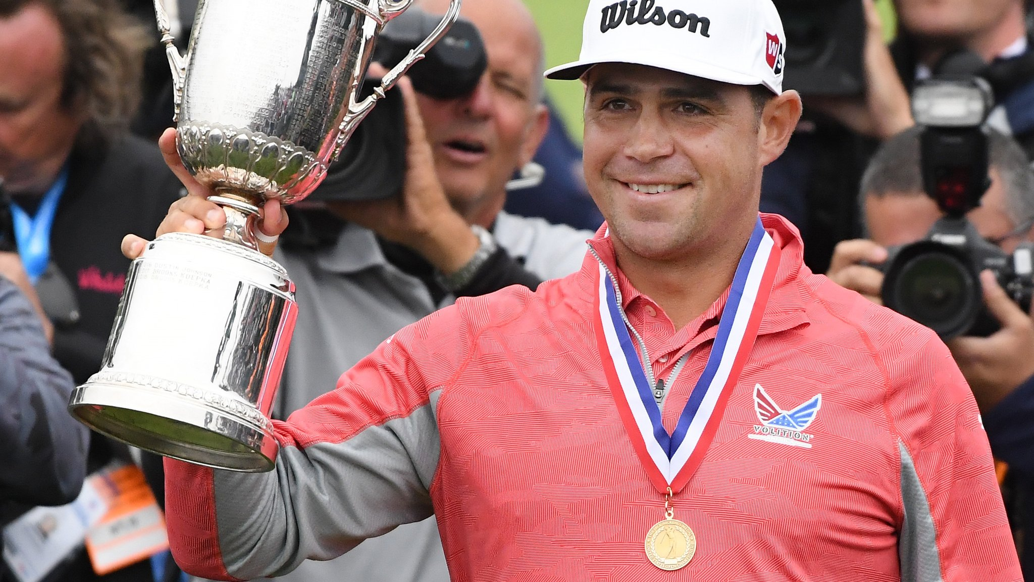 US Open: Gary Woodland holds off Brooks Koepka to win first major