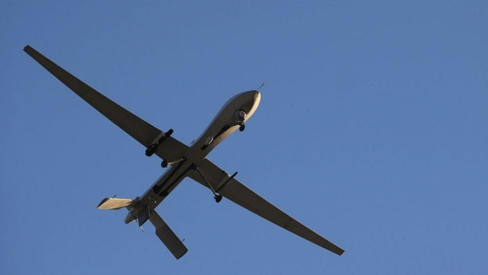صورة طائرة مسيرة (أرشيفية)