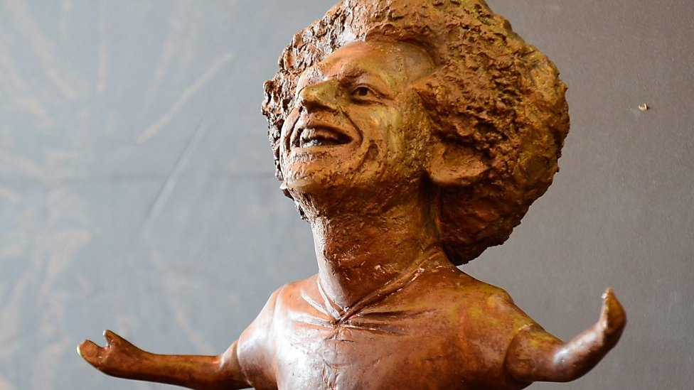 Mo Salah statue causes a stir in Liverpool
