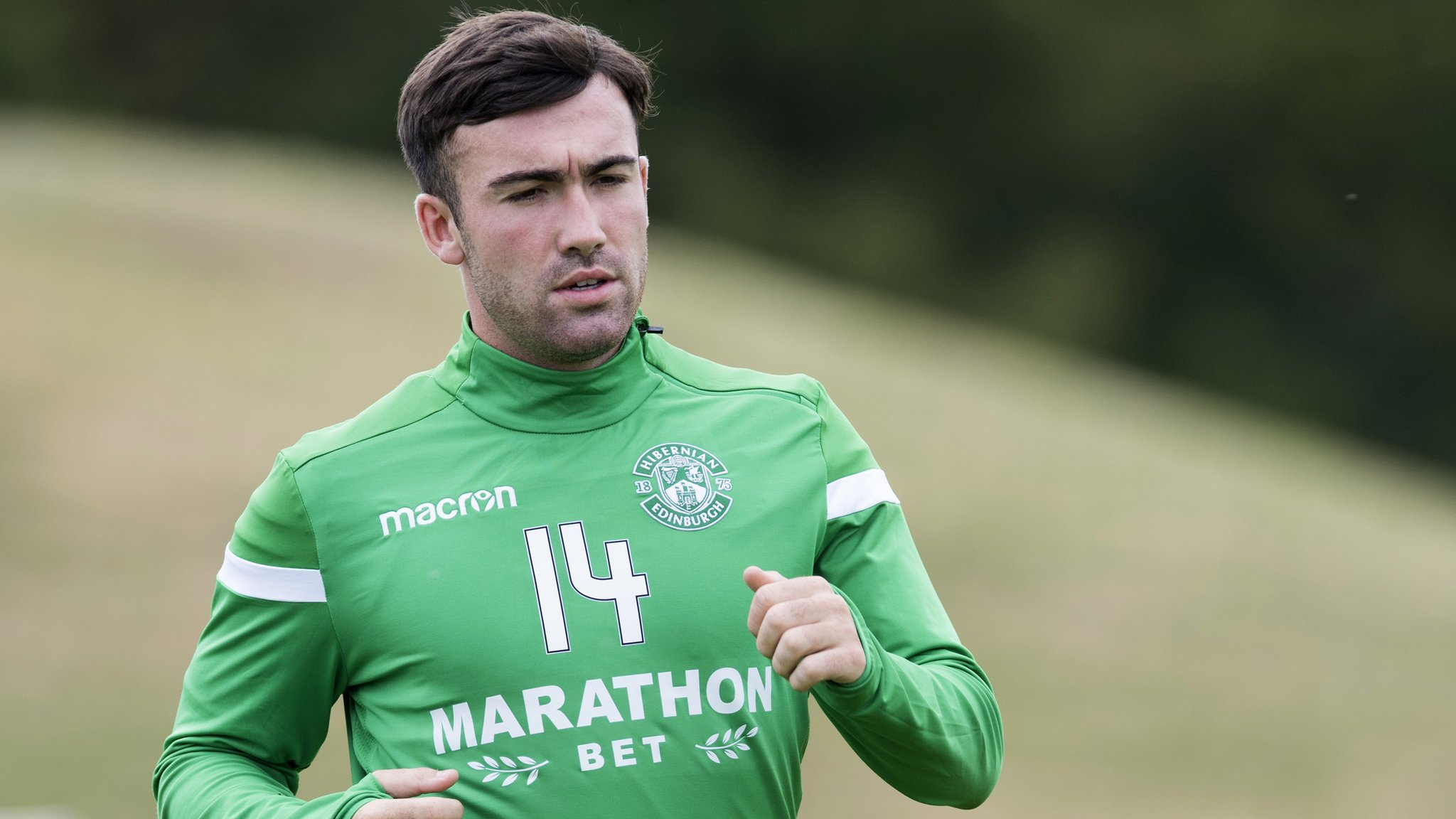 Stevie Mallan: Hibernian midfielder hungry to make up for 'year out'