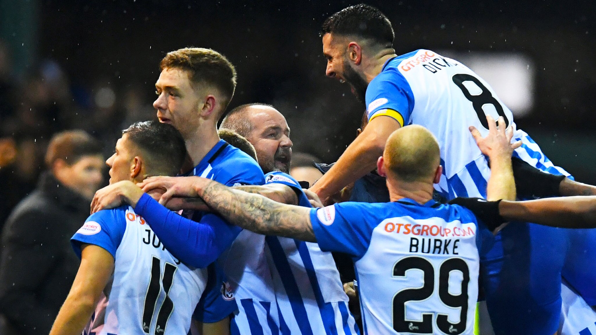 Rangers beaten by goal from Kilmarnock's Jones - who will join them in summer