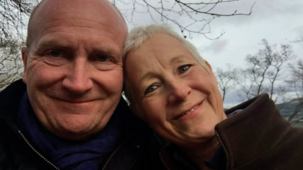 Ipswich and Colchester hospitals boss Nick Hulme walks from coast to coast in memory of his wife