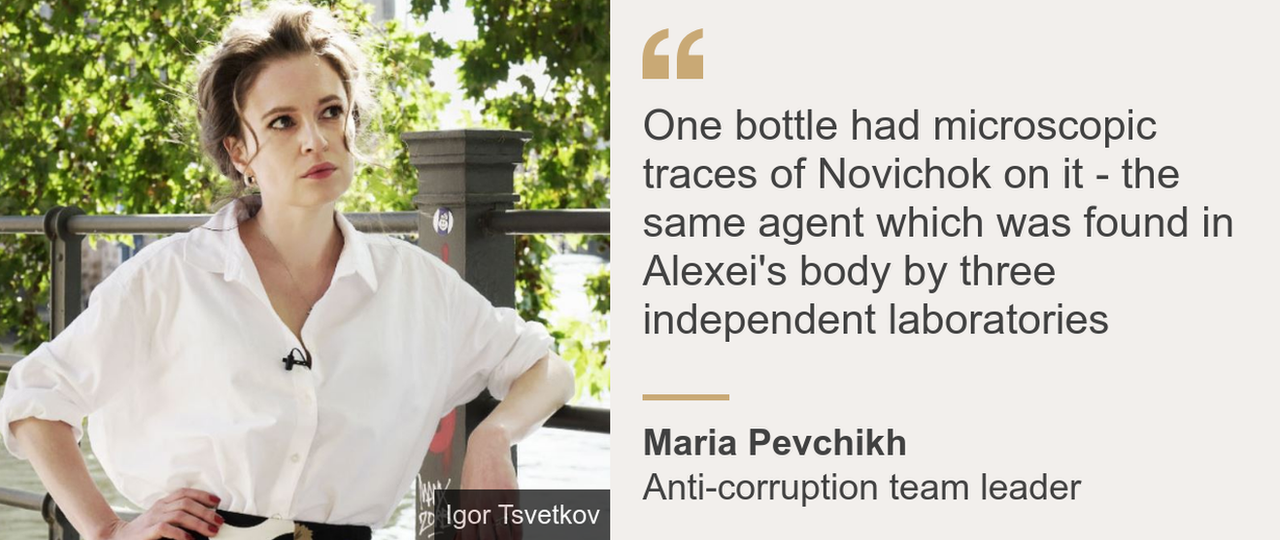 Quote from Maria Pevchikh