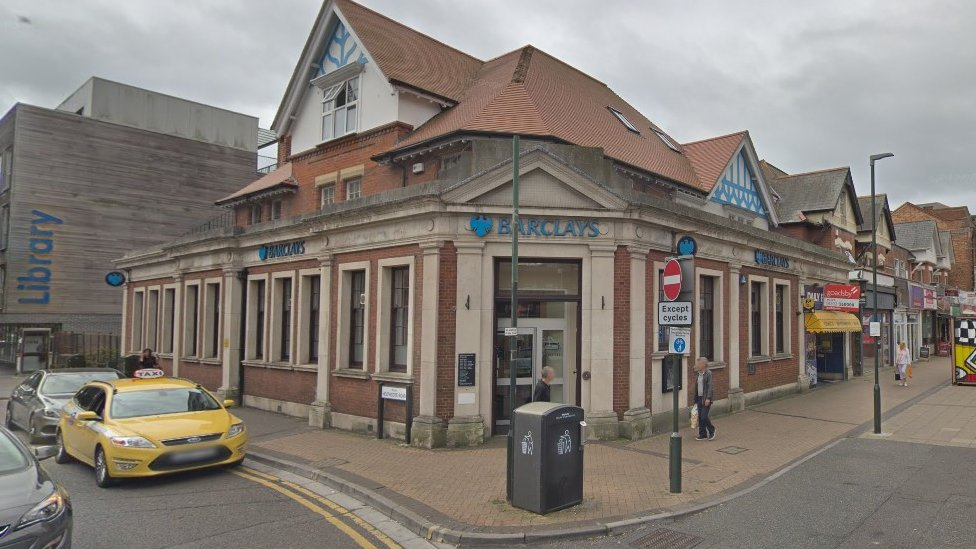 Christchurch Road branch of Barclays