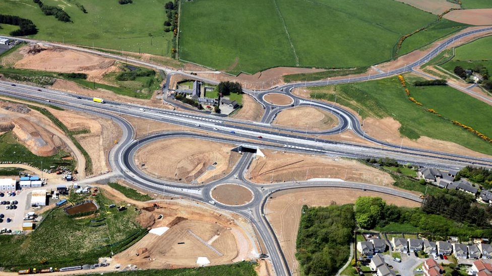 Balmedie to Tipperty section of Aberdeen bypass to fully open