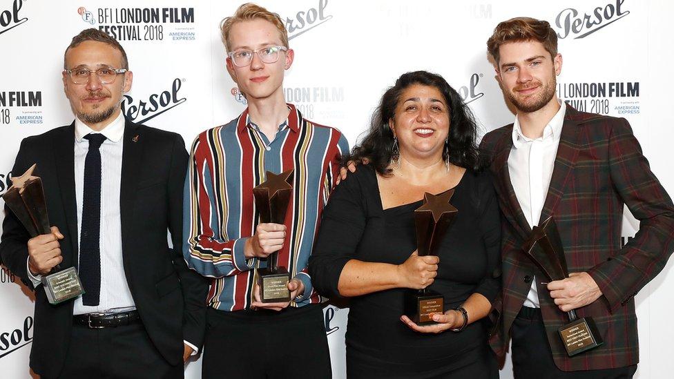 الفائزون بجوائز مهرجان لندن