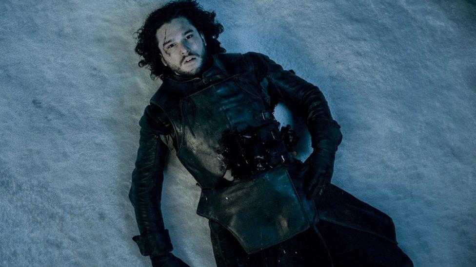 """John Snow de """"Juego de Tronos""""."""
