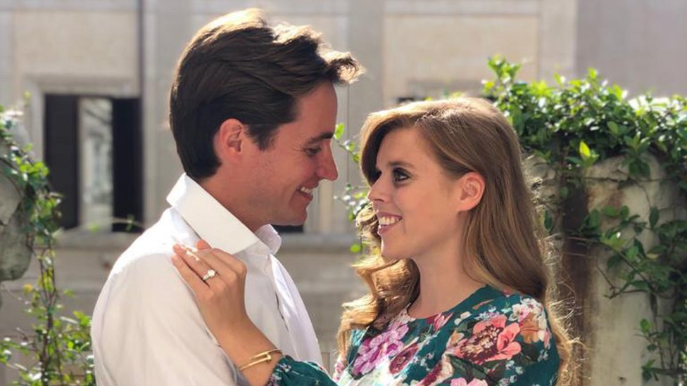 Британська принцеса Беатріс заручилася