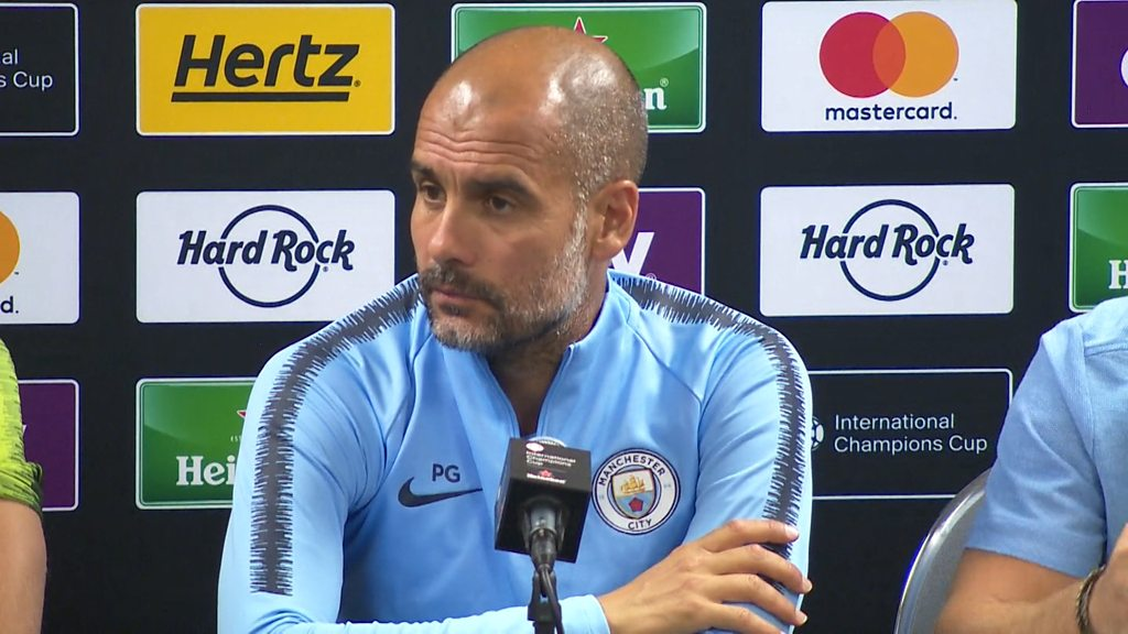 Pep Guardiola on Joe Hart and Chelsea's Jorginho