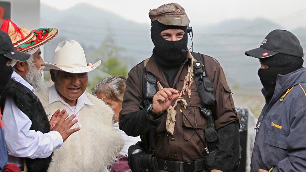 Subcomandante Insurgente Marcos.