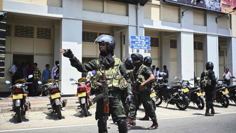 Sri Lanka attacks: Bomber 'studied in UK and Australia'