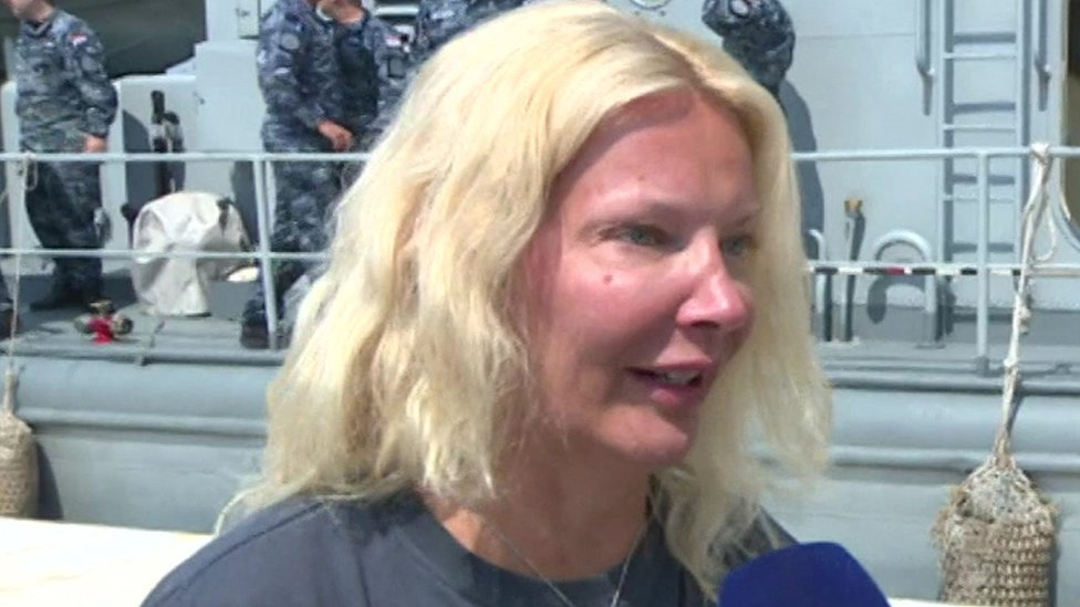 British woman rescued 10 hours after falling off cruise ship in Croatia