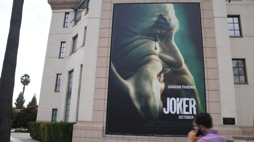 Poster of Joker in Los Angeles
