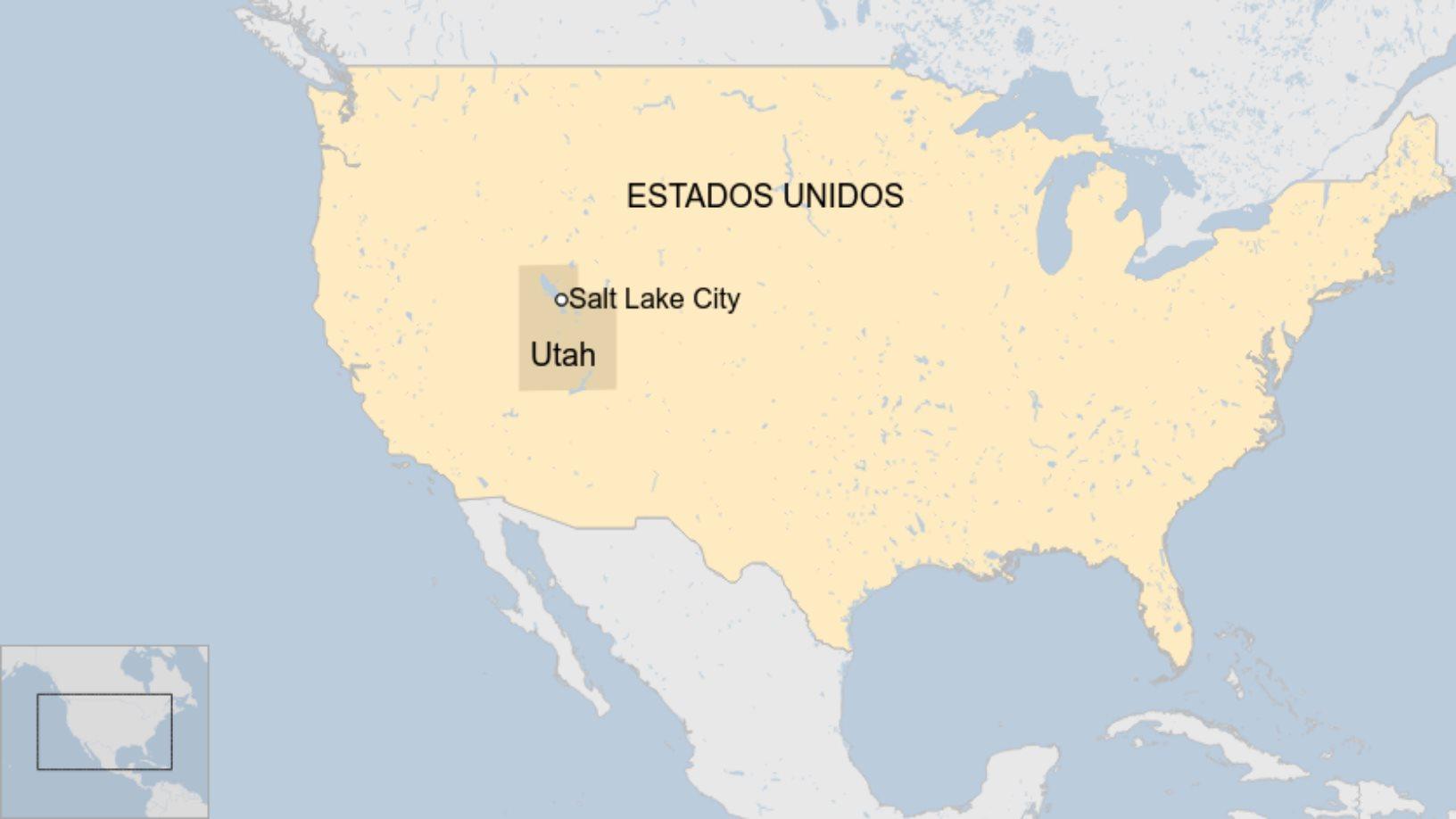Ubicación de Utah