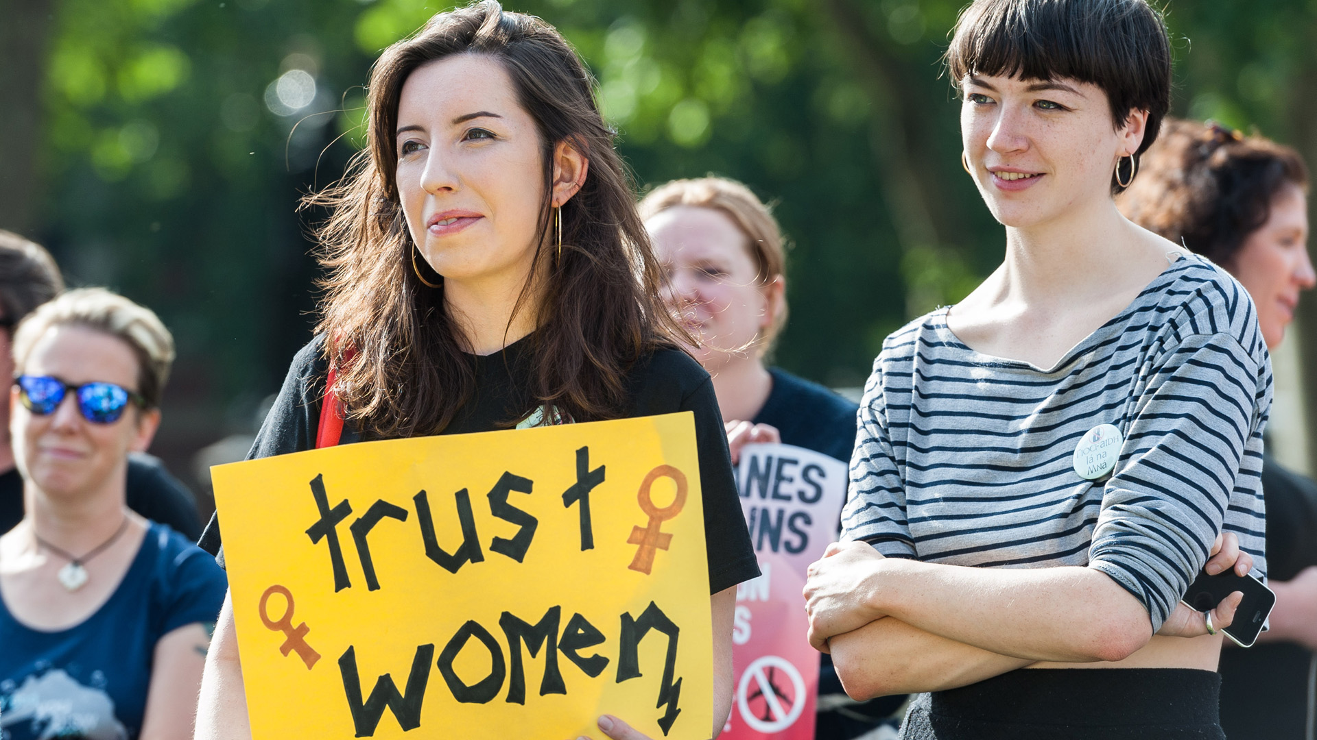 Protest to legalise abortion in Northern Ireland
