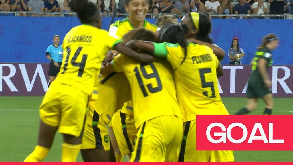 Women's World Cup 2019: Havana Solaun scores Jamaica's first ever Women's World Cup goal