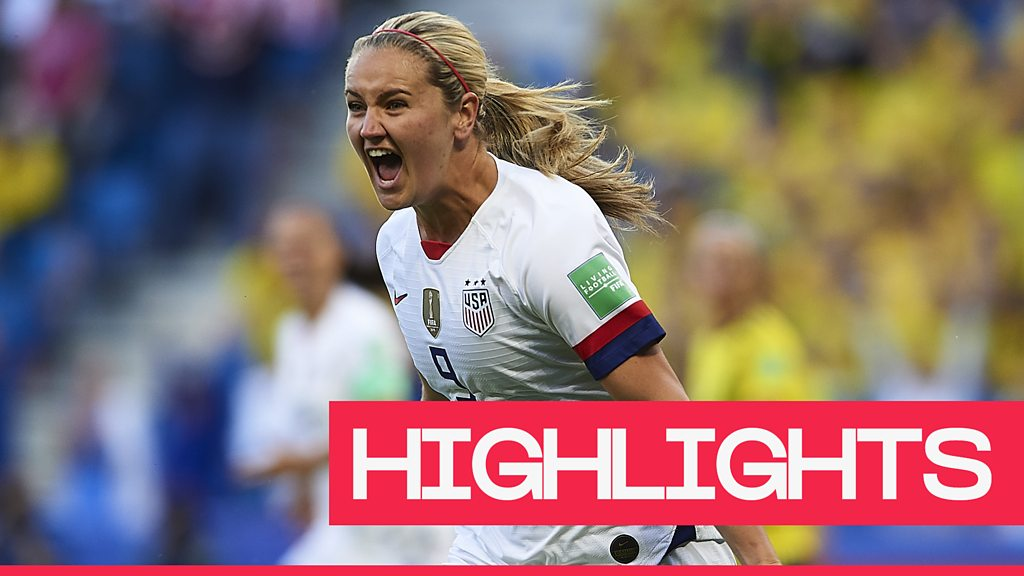 Women's World Cup 2019: Favourites USA beat Sweden 2-0 to top Group F