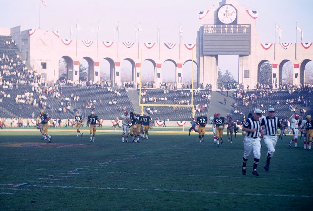 El estadio del primer Super Bowl en Los Ángeles, California