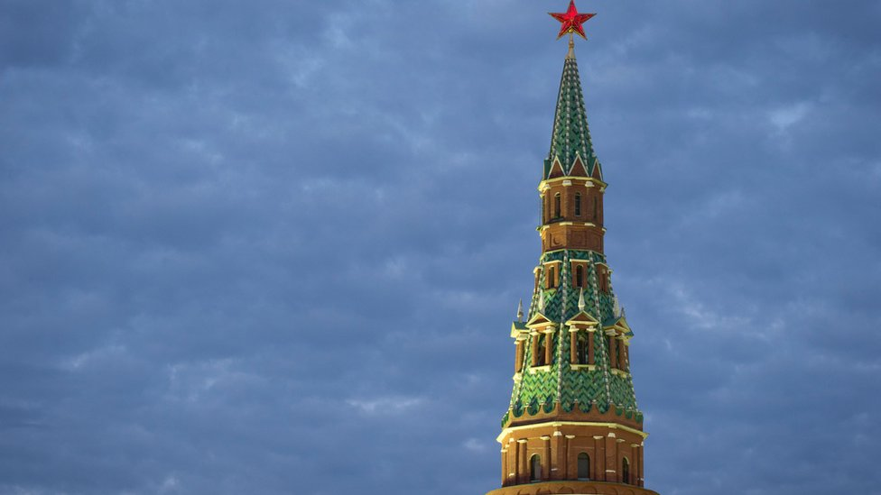 The Vodovzvodnaya Tower on the south-western side of the Kremlin complex